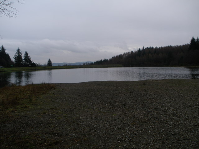 Reservoir in the Bishops Glen Dunoon
