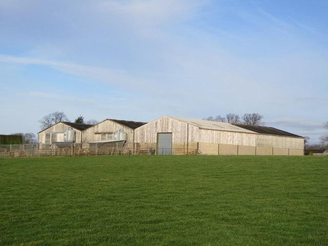 Farm buildings near Kiddal Lane Farm