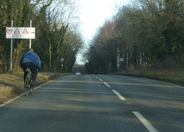 B4058 near Hammerley Wood