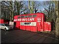SE3939 : The A64 Red Bus Café near Kiddal Bridge by Ian S