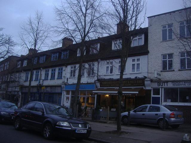 Shops on Ravenswood Crescent, West Wickham
