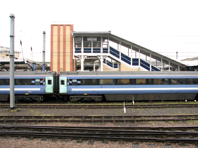 The other side of Ipswich railway station