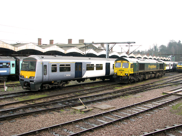Ipswich railway station sidings