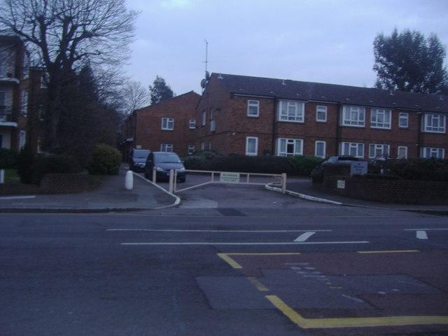 Flats on Wickham Road, Beckenham