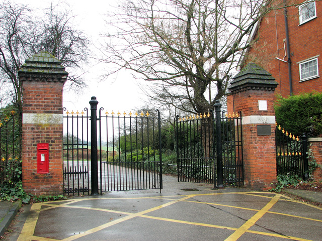Entrance to Gippeswyck Park, Ipswich