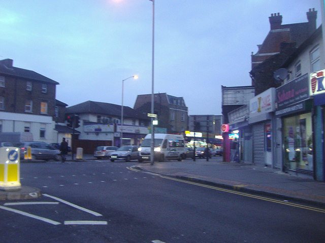 Junction of St James's Road and London Road