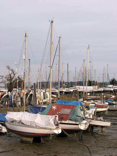 Low tide in Belstead Creek, Ipswich