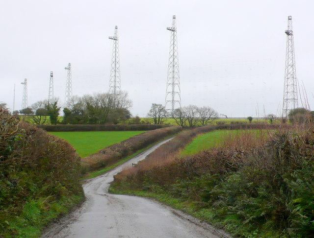 Rampisham Radio Masts