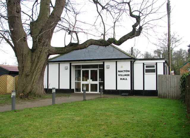 The village hall in Nacton