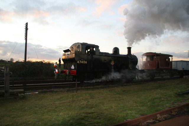 A 'Jinty' in the Gloaming