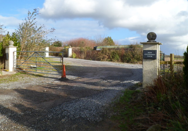 Entrance to New Greenway Farm near Bonvilston