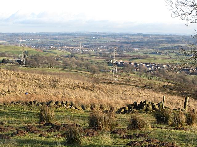 Rough ground above Banton