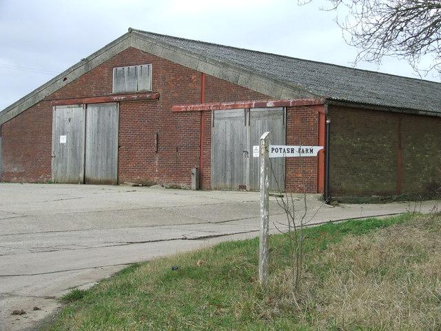 Entrance To Potash Farm