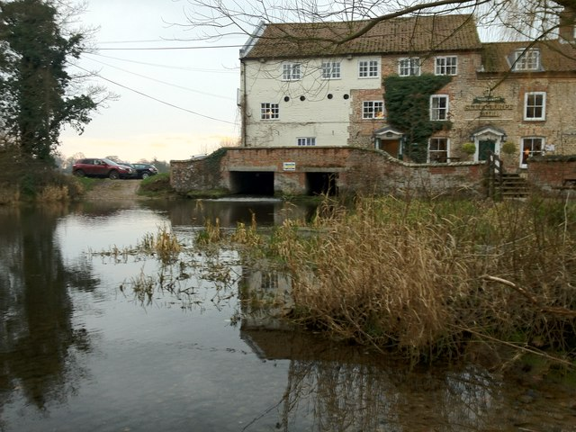 Ford at Sculthorpe Mill on the River Wensum