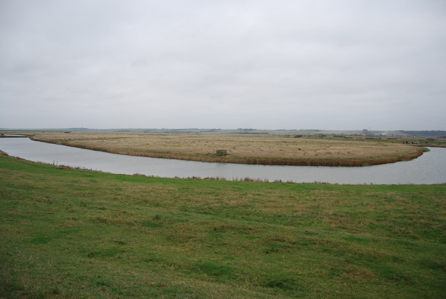 Drainage channel, St Mary's Marshes