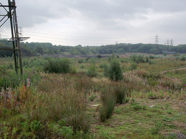 Site of former Meaford Power Stations, Staffordshire