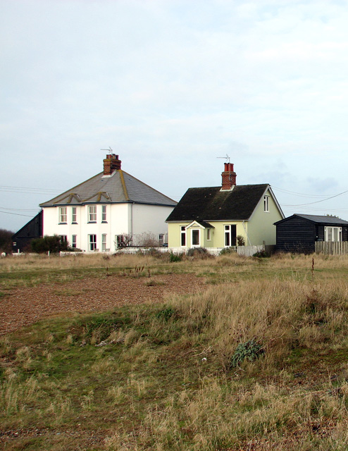 Cottages on Shingle Street
