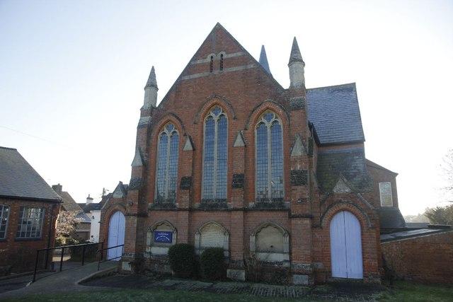 Chapel off Main road