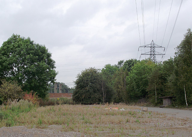 Site of former power stations at Meaford, Staffordshire