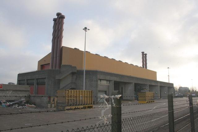 Waste transfer facility