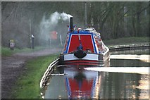 SP6989 : Working Narrow Boat Hadar moored near Foxton Village by Keith Lodge