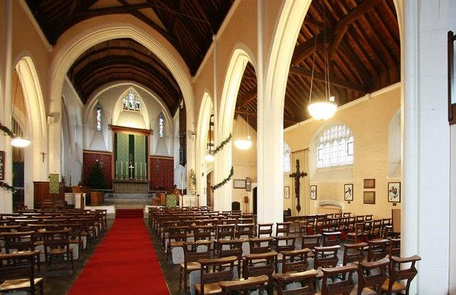 St Hilda with St Cyprian, Brockley Road, Crofton Park - Interior