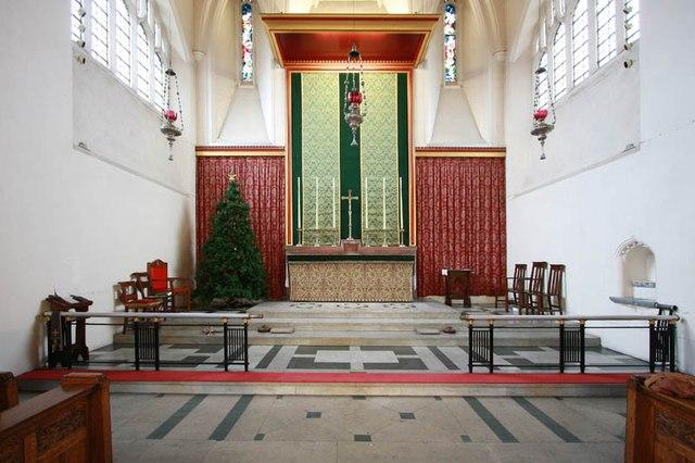 St Hilda with St Cyprian, Brockley Road, Crofton Park - Sanctuary