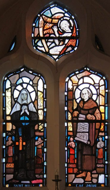 St Hilda with St Cyprian, Brockley Road, Crofton Park - Stained glass window