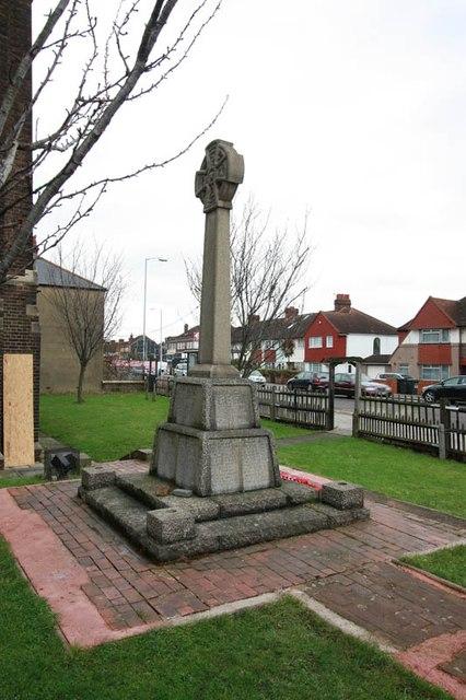 St Hilda with St Cyprian, Brockley Road, Crofton Park - War Memorial