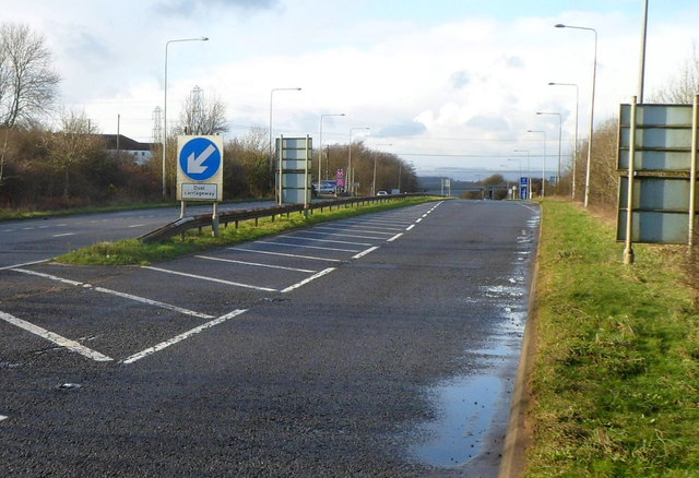 SE end of the Cowbridge Bypass