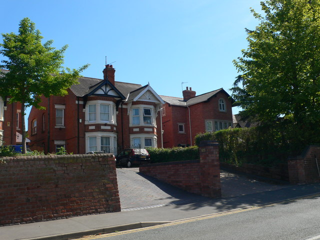 Houses on Bath Road, Worcester