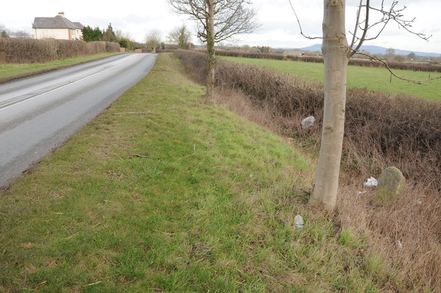 The A438 and milestone