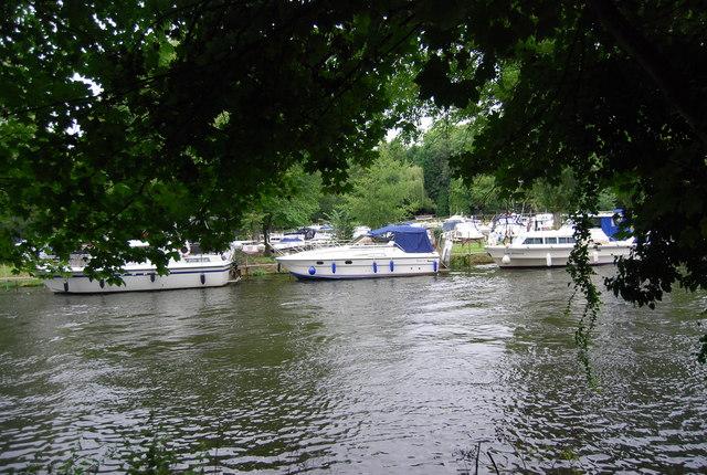 Boats near Allington Marina