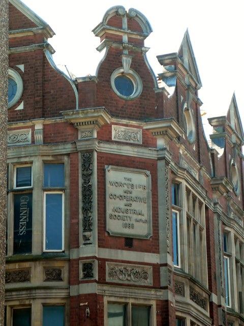 Plaque on O'Neill's, St Nicholas Street