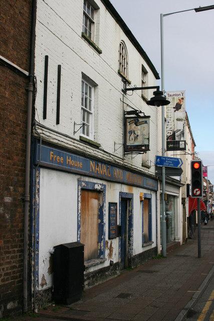 Naval and Military Inn at Taunton