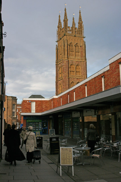 Wyvern Place and St. Mary's Taunton