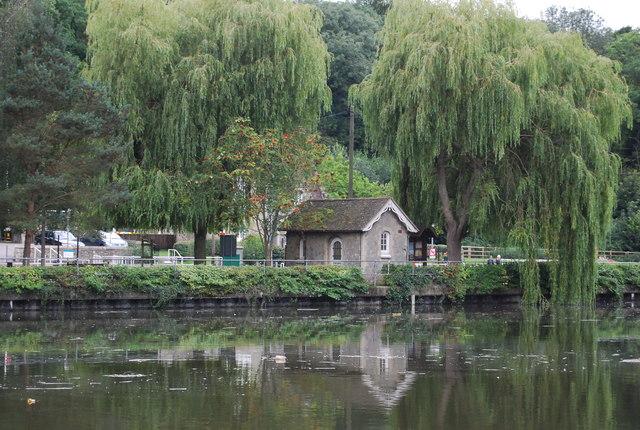 Building, Allington Lock