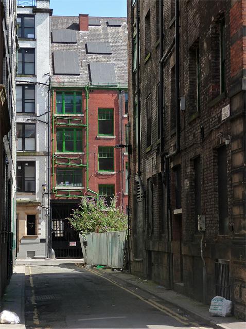 Bunsen Street, Manchester
