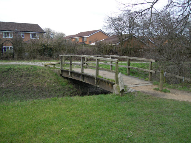 Footbridge over the Brook