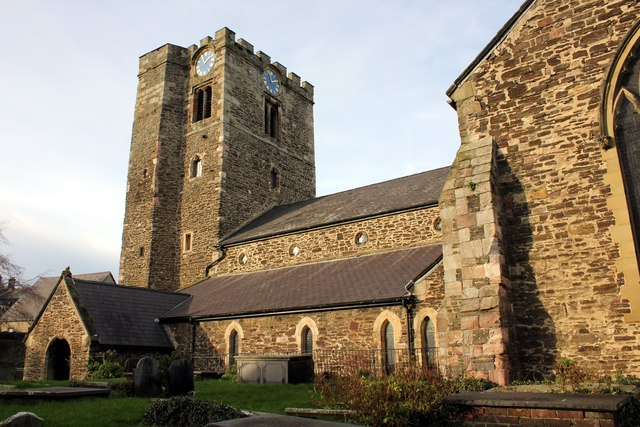 St Mary and All Saints Church, Conwy