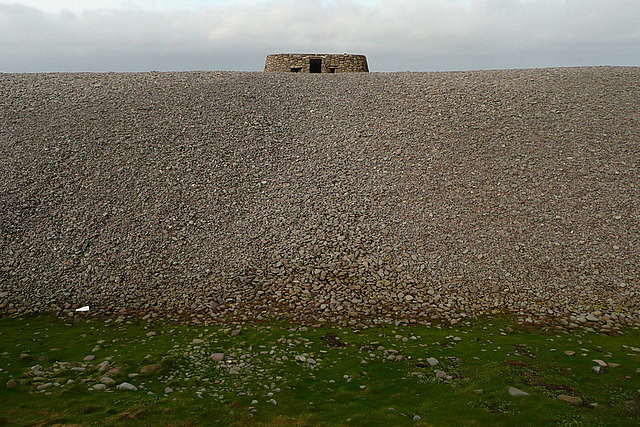 Gun emplacement on Bossington Beach