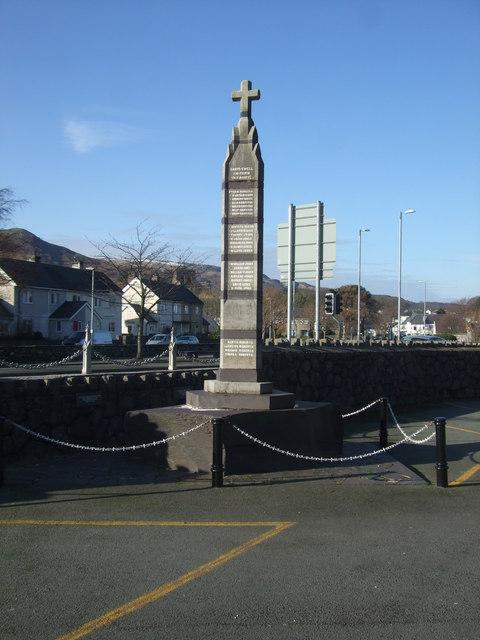 War Memorial at Llanberis