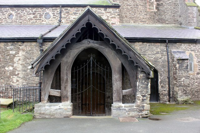 The Porch of St Mary and All Saints Church, Conwy
