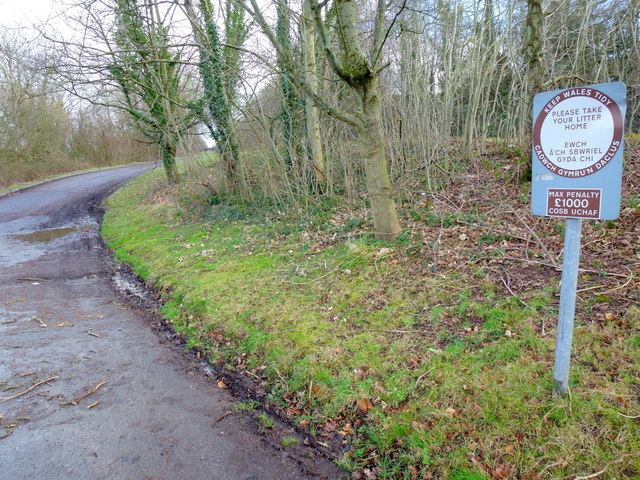 Lay-by loop off the A465
