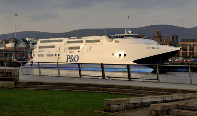 """The P&O """"Express"""" at Belfast (7)"""