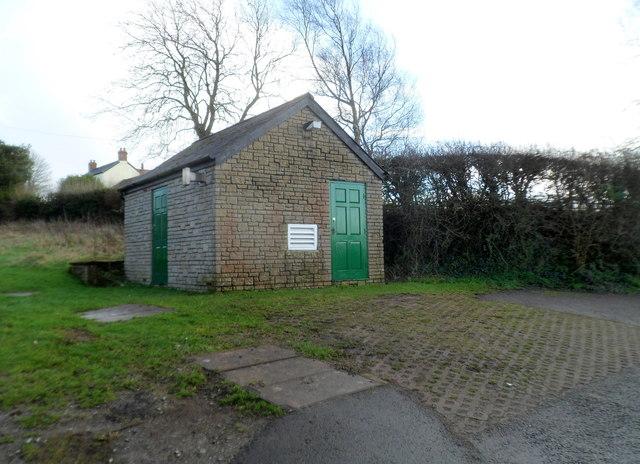 Water pumping station, Primrose Hill near Cowbridge