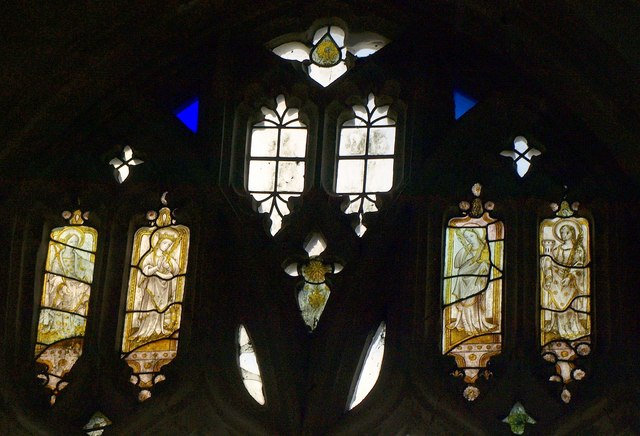Stained glass, Awliscombe