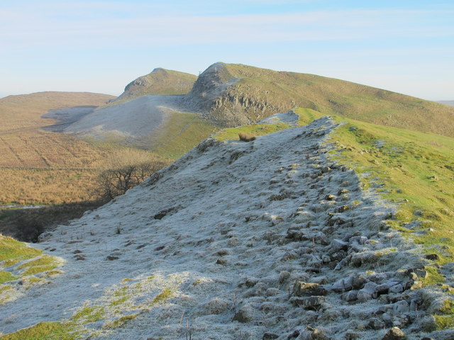(The course of) Hadrian's Wall on the Nine Nicks of Thirlwall