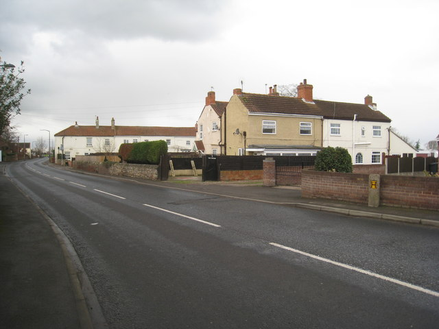 Cottages off Doncaster Road, Stainforth