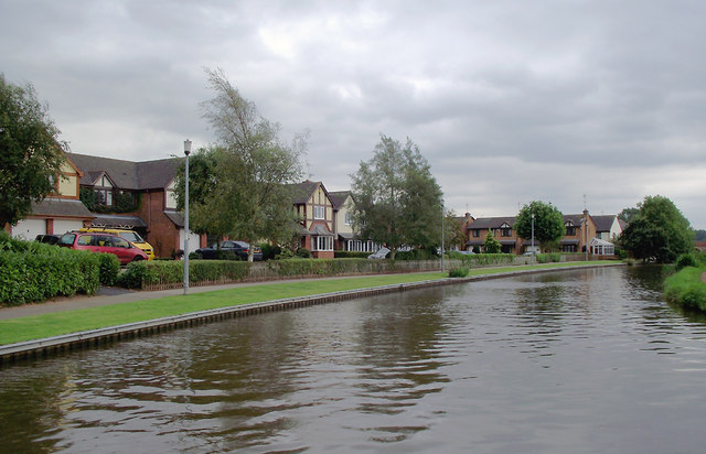 Trent and Mersey Canal near Little Stoke, Staffordshire